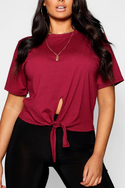 T Front Plus Shirt Cotton Tie qYxwv4S