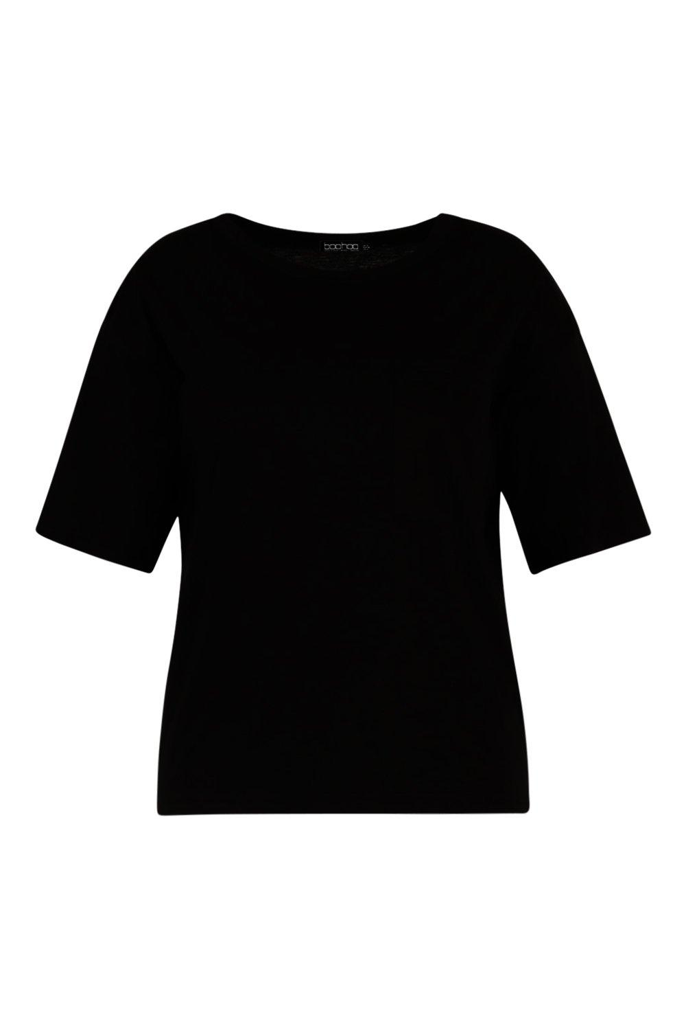 One Pocket Basic T Shirt Plus black q5Bgv1w