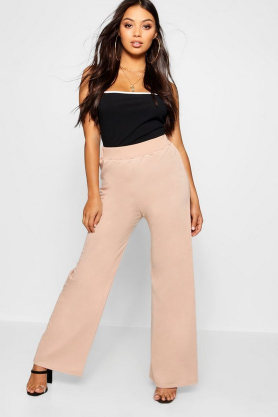 Petite Wide Leg Tie Waisted Detail Jogger