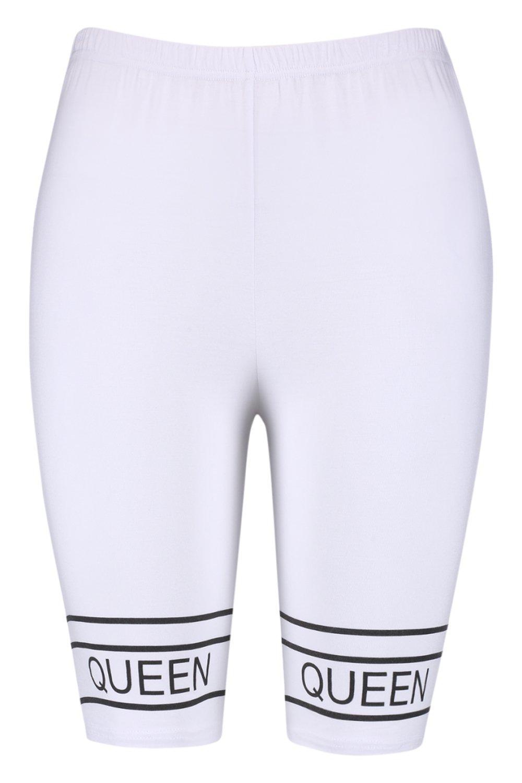 """con de estampado Shorts """"Queen ciclista wAEnqB07"""