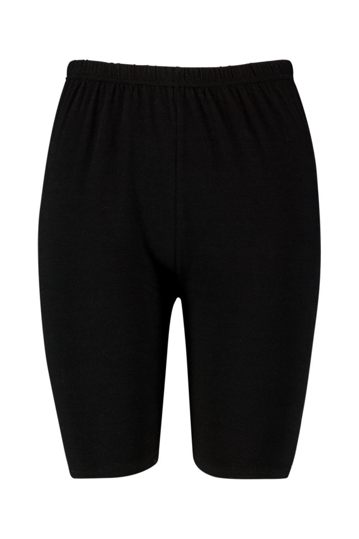 negro de Shorts de Plus básicos ciclista punto wOqOZBP