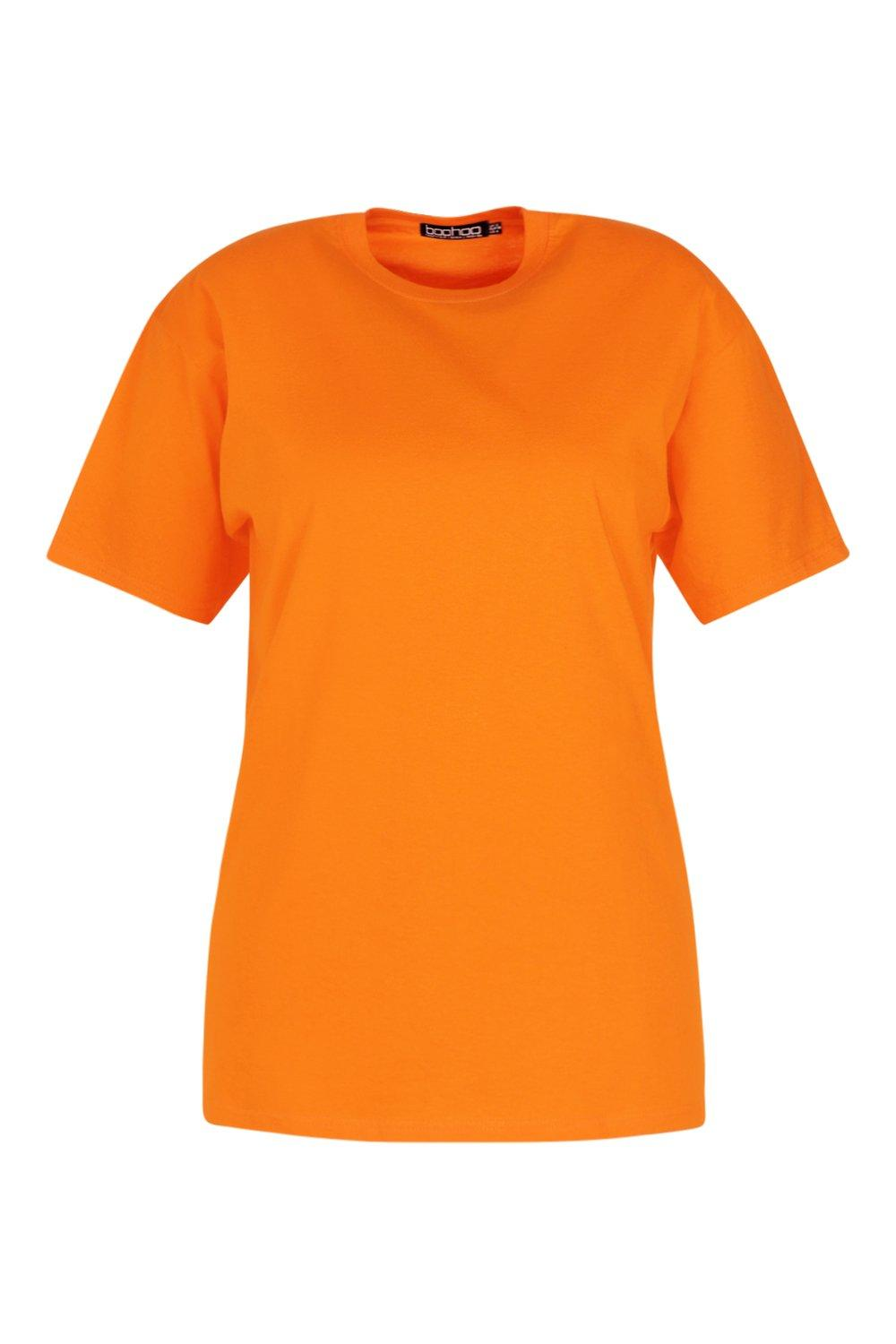 Boyfriend Plus Oversized Tee Oversized Plus Boyfriend orange qaIwZW07g