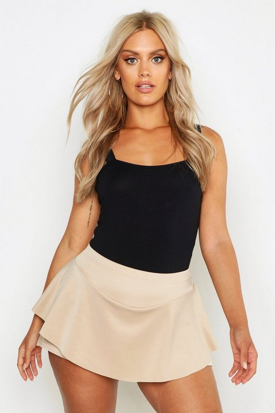 Womens Stone Plus Flippy Skort