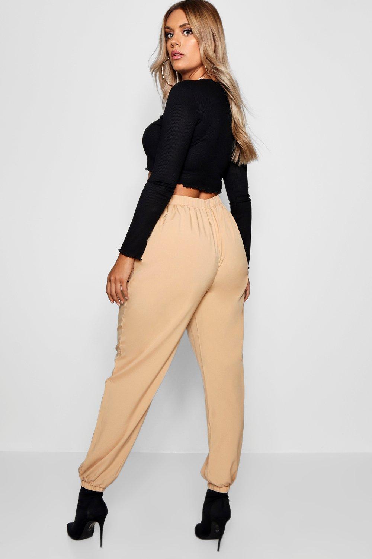 arena tejido Plus camuflaje de con Pantalones bolsillo xARYqn1nw