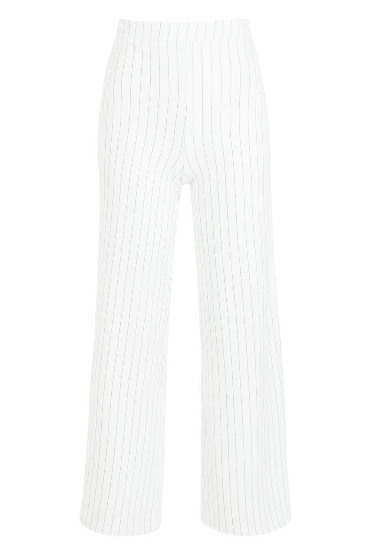diplomática Pantalones Petite de acampanados blanco wAqE7xfAnS