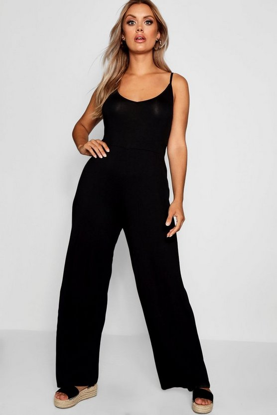 Plus Wide Leg Jumpsuit