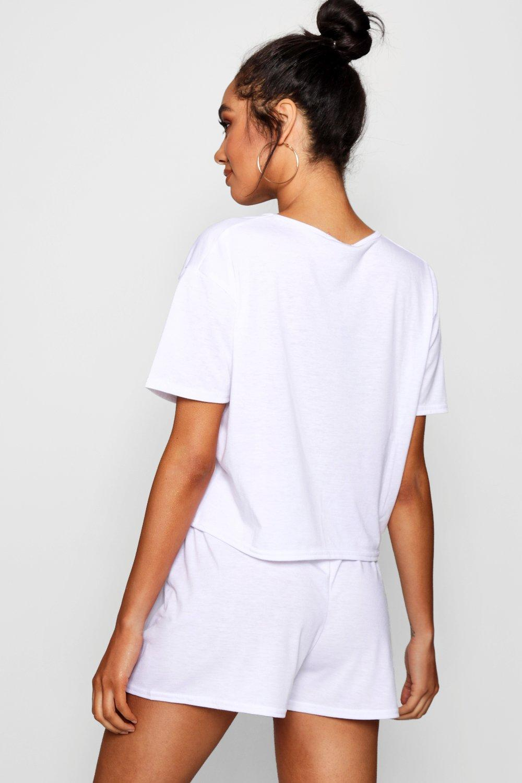 pantalones de camiseta