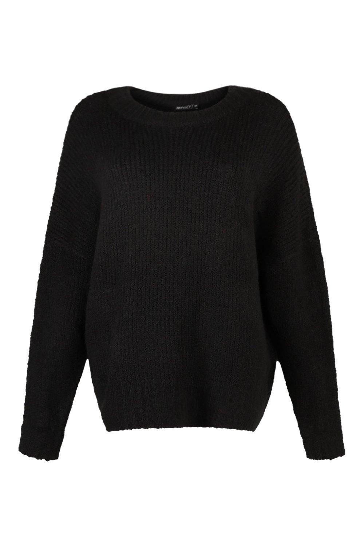 oversize Pullover maglia in Petite a coste w4fCgAqnRx