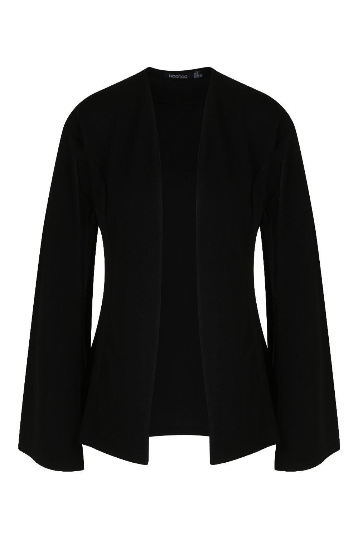Petite Cape Cape Blazer Cape Blazer Sleeve Sleeve Petite black Petite black Sleeve Blazer qfYxEn