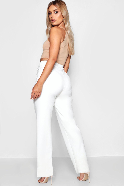 Straight Plus black Tailored Trouser Leg qnxw5HCSZ