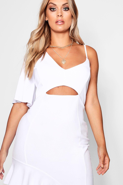 Ruffle Plus Detail Terri Maxi Lace Dress rqtvq4zw
