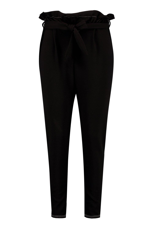 Meg Bag Paper Stitch Plus black Trouser Contrast Waist wpdIdqx
