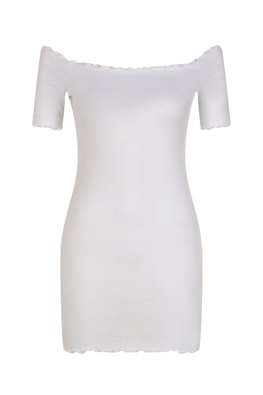 Petite Lettuce Nina Bardot Dress Hem qY1wqZ0