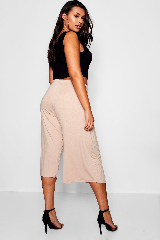 Falda Plus Hetty pantalón básica negro rwrRp
