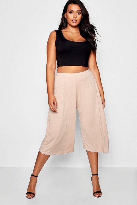 Womens Stone Plus Hetty Basic Culotte