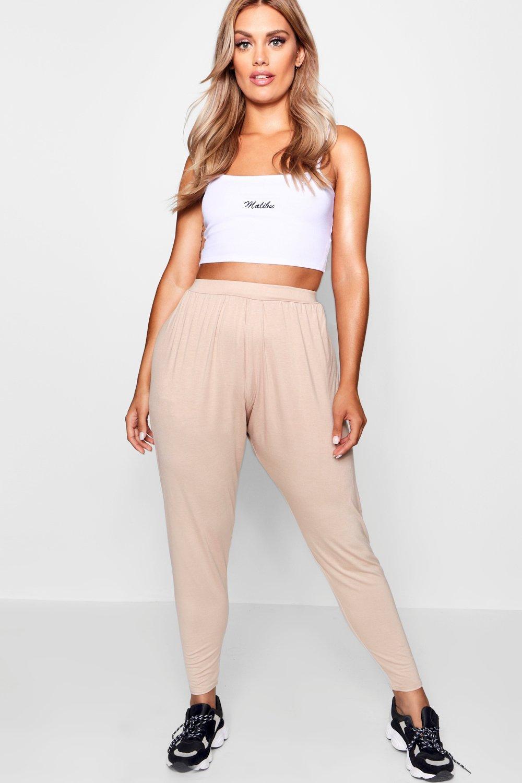 Boohoo 2019 New Pantalones harén Plus Boohoo - Ropa boohoo plus y curve Descuento WQZAMOA