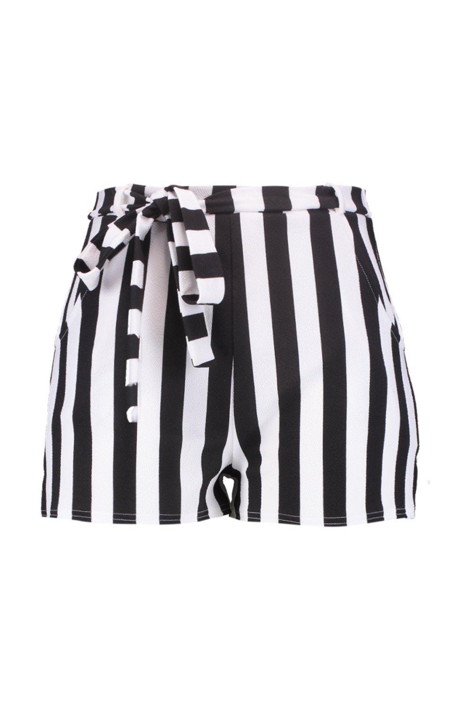 righe Plus in pantaloncini vita a allacciati xwpPfS