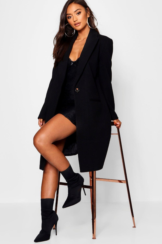 Abrigo guardapolvo Petite guardapolvo Petite Petite Abrigo negro estilo Abrigo guardapolvo Abrigo estilo negro Petite estilo guardapolvo estilo negro dIwCfqnz