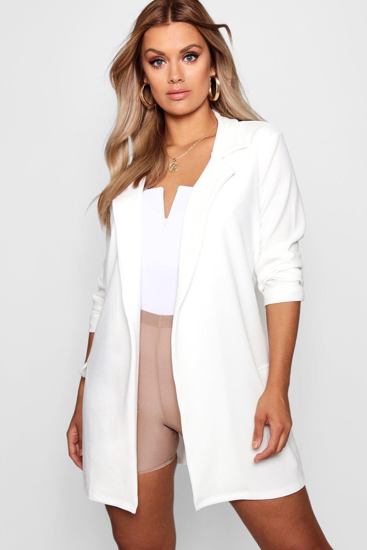 extra Blazer Plus nudo con grande blanco zaYdYq4x