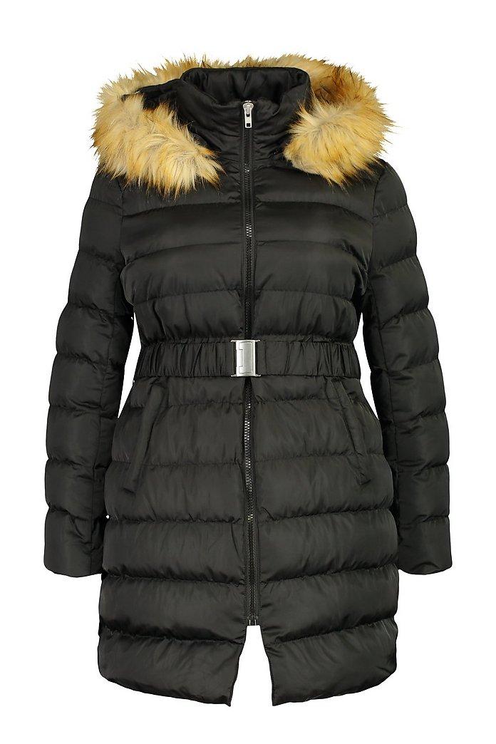 cappotto svasato con cappuccio donna