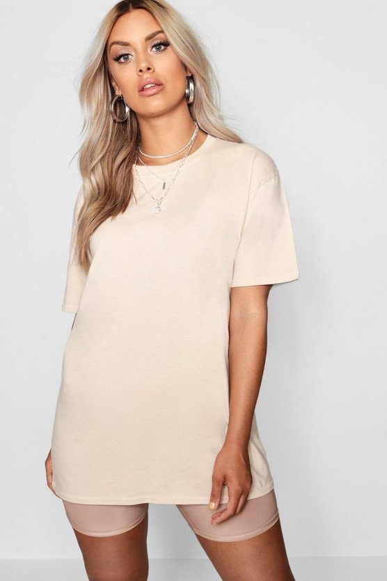 Plus Oversized Boyfriend T-Shirt
