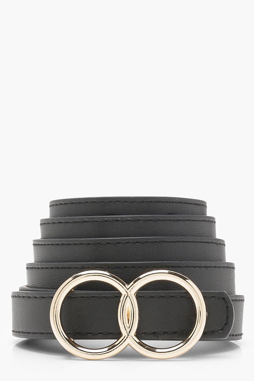 Plus Double Ring Buckle Belt