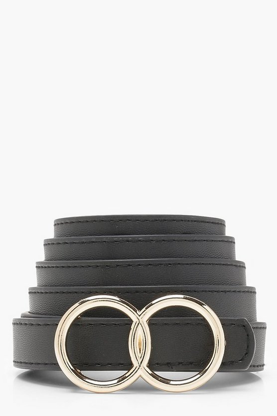 Plus Double Ring Buckle Belt