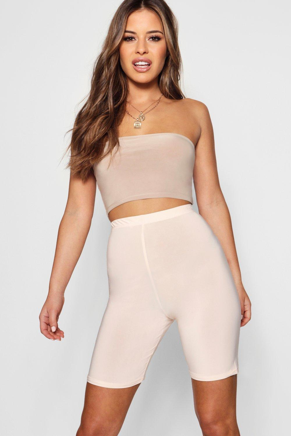 Petite Short Waisted Slinky High nude Cycling gxrHRwgq