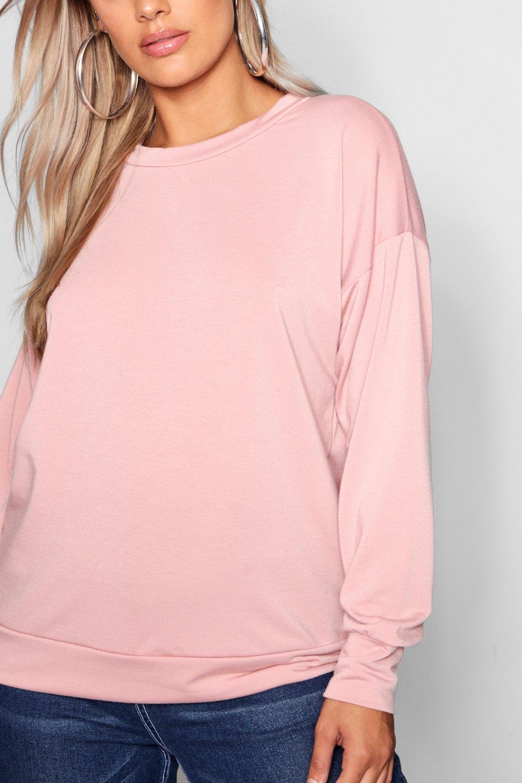 Suéter blush cuello con plus redondo rWqr5I