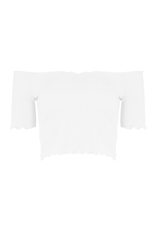 nudo delante larga de manga por blanco Top con Petite pTqIAwY77O