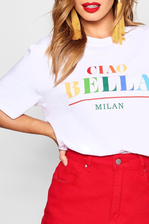 """Camiseta Camiseta eslogan con con """"Caio Camiseta con """"Caio eslogan """"Caio eslogan W07TAwUqg"""