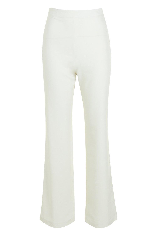 gamba vita e pantaloni alta Petite intessuti diritta a qp6Otf4
