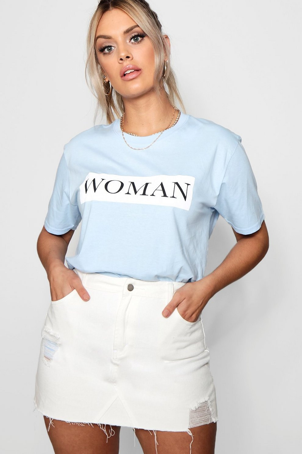 7245d6e79ad Plus Woman Oversized T-Shirt