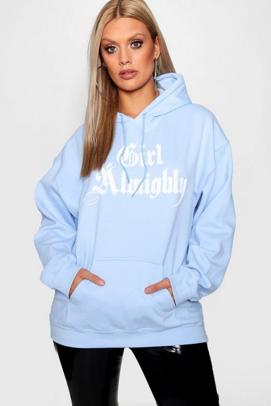 Plus Girl Almighty Hoody