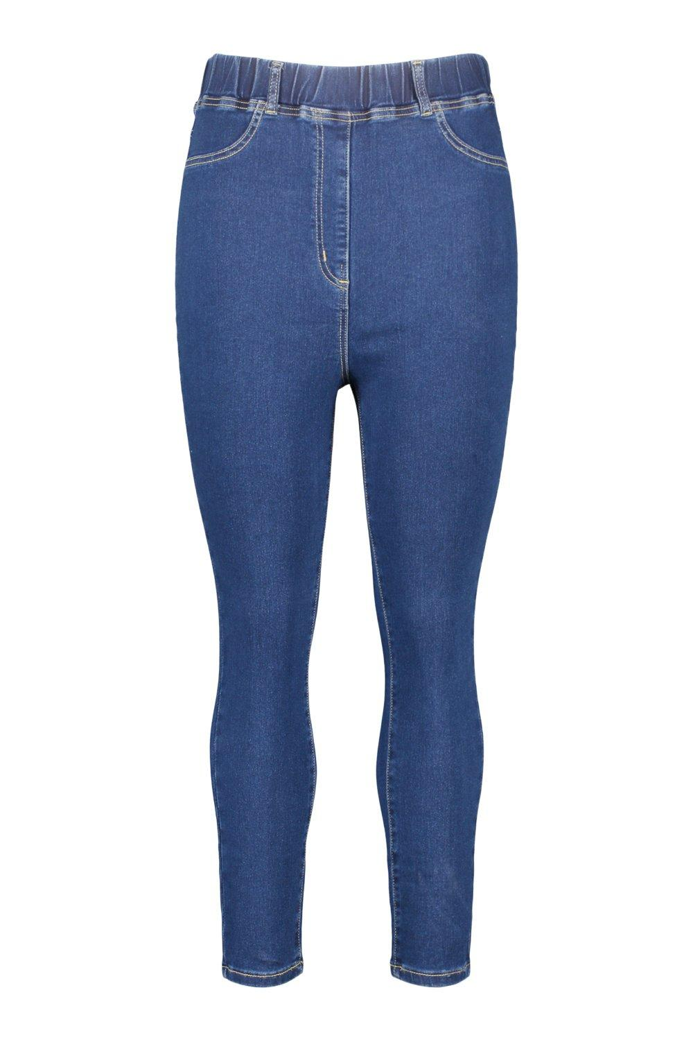básicos Jeggings medio azul azul Plus Plus medio básicos básicos Jeggings Jeggings qrqw0TO