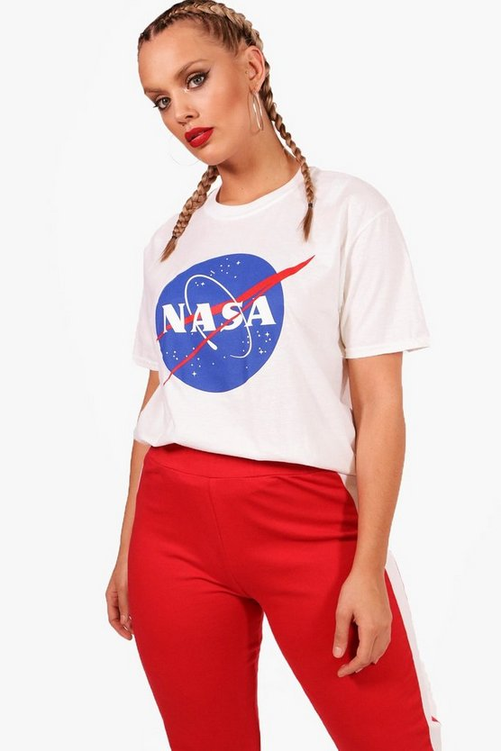 Plus Nasa License T-Shirt