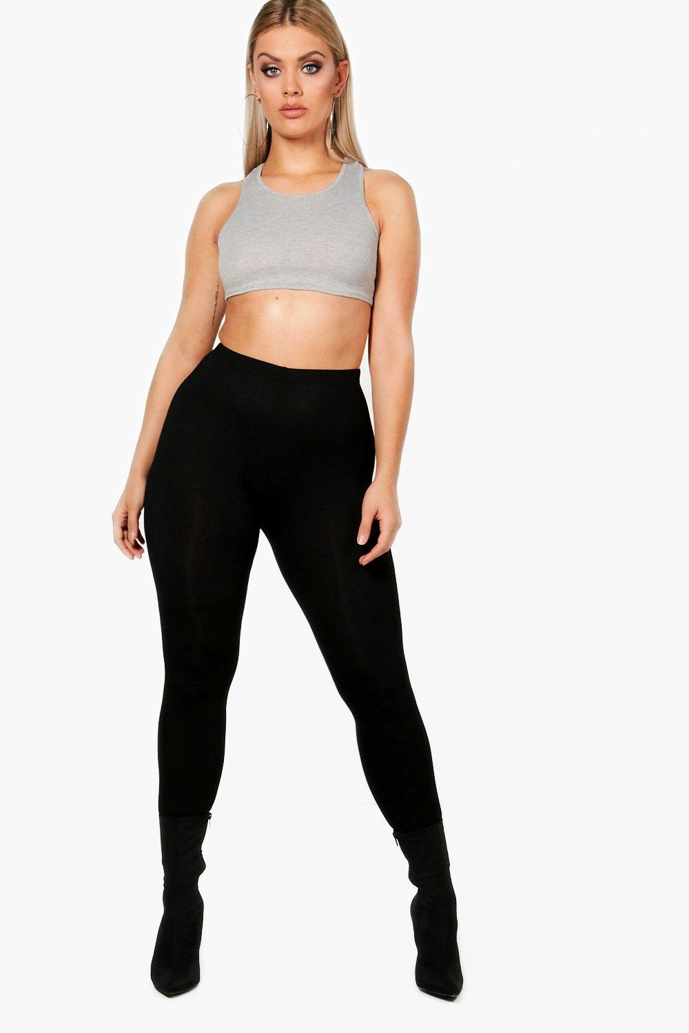 Legging Plus Basic Plus black Basic black Plus Legging xY7Pq7wSH