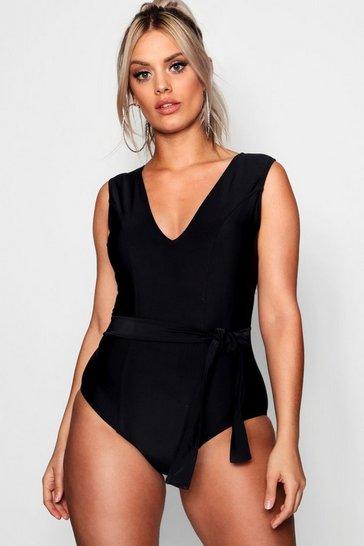 492b2461c8 Plus Size Swimwear | Plus Size Bikinis & Swimsuits | boohoo UK