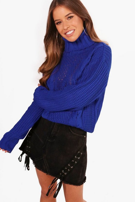 Pettie Rianne Cable Knit Jumper