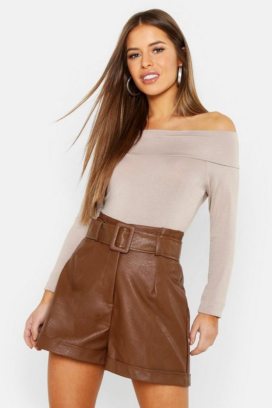 Petite  Off The Shoulder Bodysuit