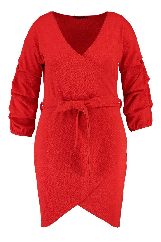 Wrap Tie Dress Plus Detail Detail Plus Tie qAn6xOwCH