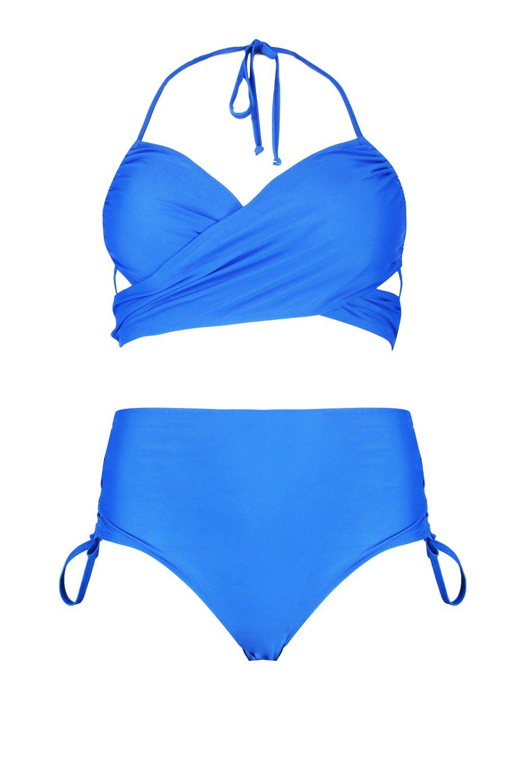 cobalt Plus Front Bikini Strappy Wrap Brief wPz6HfFq