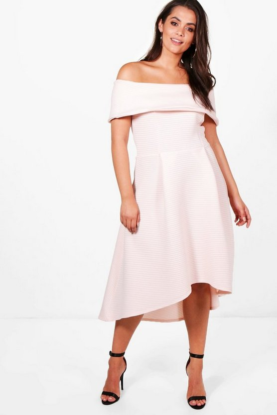 Plus Alice Double Layer Skater Dress