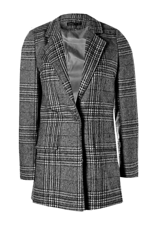 Check Check Petite Petite black Check Coat Petite Coat black 1tgOdqOxw