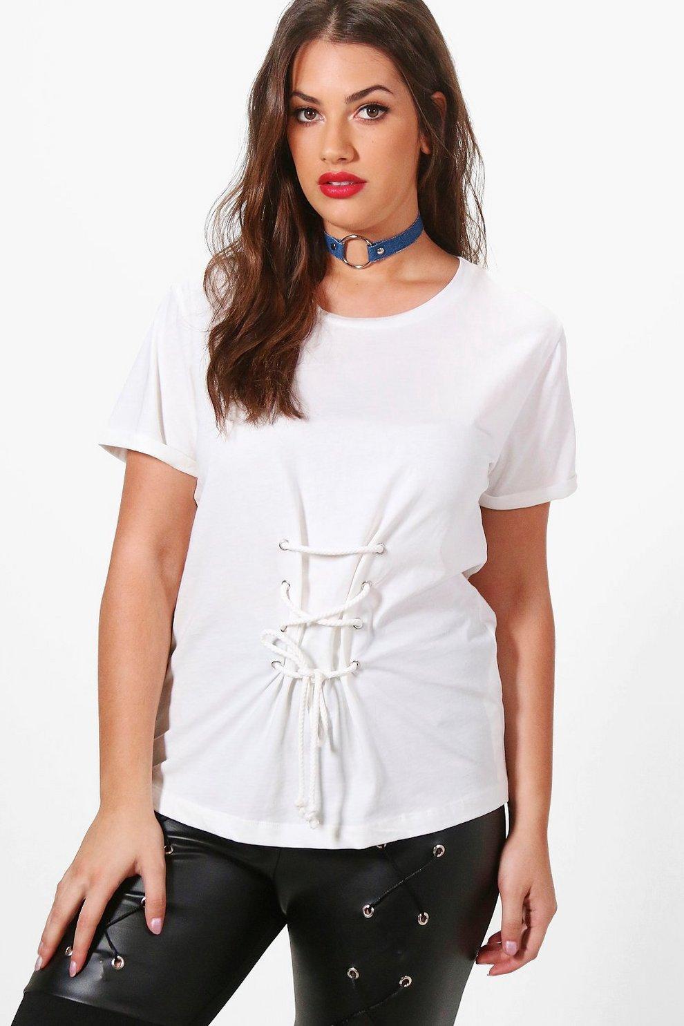 27d3a5286e Plus Jessica Corset T-shirt