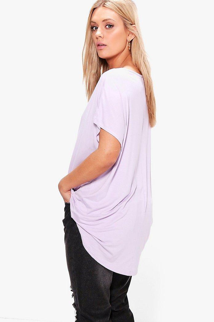 Plus Oversized T Shirt   Boohoo UK