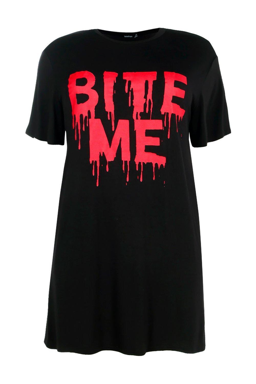 da t a Halloween con Plus shirt Lexi Abito slogan x7SdXq75