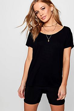 petite oversized t-shirt