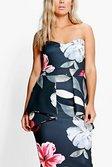 fde61c3c48f ... Plus Sinead Floral Peplum Dress alternative image
