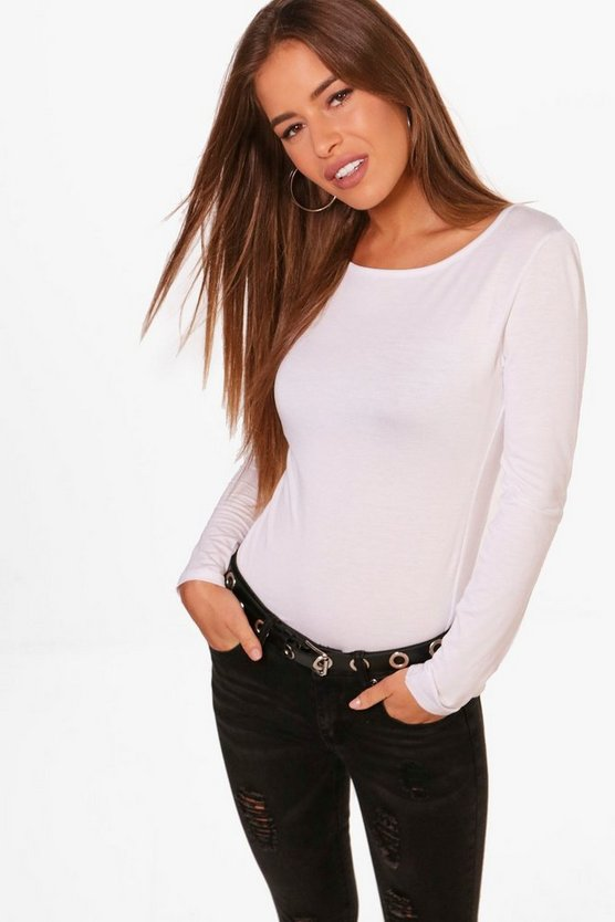 Petite Basic Long Sleeve Top